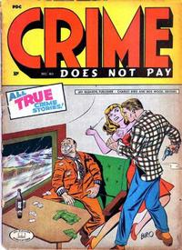 Cover Thumbnail for Crime Does Not Pay (Lev Gleason, 1942 series) #40