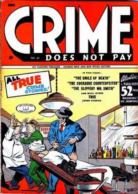 Cover Thumbnail for Crime Does Not Pay (Lev Gleason, 1942 series) #41