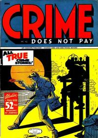 Cover Thumbnail for Crime Does Not Pay (Lev Gleason, 1942 series) #42