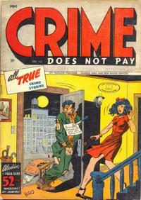 Cover Thumbnail for Crime Does Not Pay (Lev Gleason, 1942 series) #43