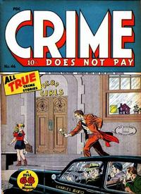 Cover Thumbnail for Crime Does Not Pay (Lev Gleason, 1942 series) #46