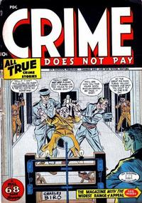 Cover Thumbnail for Crime Does Not Pay (Lev Gleason, 1942 series) #47