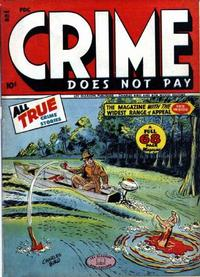 Cover Thumbnail for Crime Does Not Pay (Lev Gleason, 1942 series) #48