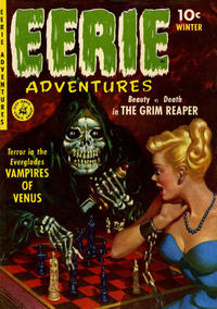 Cover Thumbnail for Eerie Adventures (Ziff-Davis, 1951 series) #1