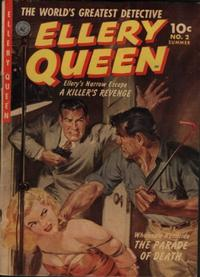 Cover Thumbnail for Ellery Queen (Ziff-Davis, 1952 series) #2