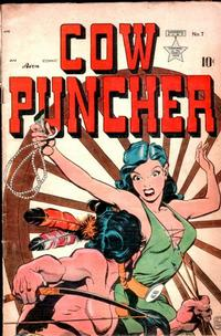 Cover Thumbnail for Cow Puncher Comics (Avon, 1947 series) #7