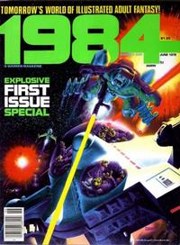 Cover for 1984 (Warren, 1978 series) #1