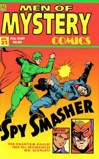 Cover Thumbnail for Men of Mystery Comics (AC, 1999 series) #21