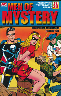 Cover Thumbnail for Men of Mystery Comics (AC, 1999 series) #28