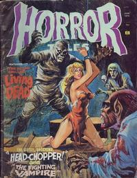 Cover Thumbnail for Horror Tales (Eerie Publications, 1969 series) #v6#3