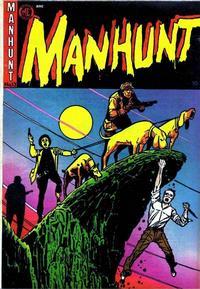 Cover Thumbnail for Manhunt (Magazine Enterprises, 1947 series) #13 [A-1 #63]
