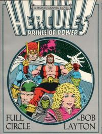 Cover for Hercules, Prince of Power: Full Circle -- A Marvel Graphic Novel (Marvel, 1988 series) #[nn]