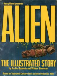 Cover Thumbnail for Alien: The Illustrated Story (Heavy Metal, 1979 series)