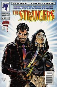 Cover for The Strangers (Malibu, 1993 series) #17 [Direct Edition]