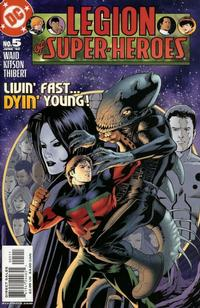 Cover Thumbnail for Legion of Super-Heroes (DC, 2005 series) #5