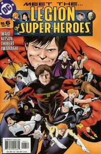 Cover Thumbnail for Legion of Super-Heroes (DC, 2005 series) #6