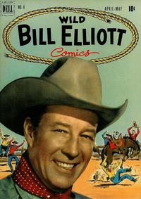 Cover Thumbnail for Wild Bill Elliott (Dell, 1950 series) #4