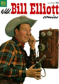 Cover Thumbnail for Wild Bill Elliott (Dell, 1950 series) #14
