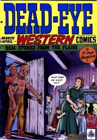 Cover Thumbnail for Dead-Eye Western Comics (Hillman, 1948 series) #v1#3