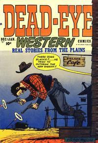 Cover Thumbnail for Dead-Eye Western Comics (Hillman, 1948 series) #v2#1