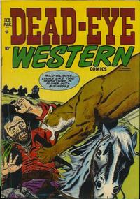 Cover Thumbnail for Dead-Eye Western Comics (Hillman, 1948 series) #v2#12
