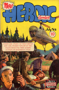 Cover Thumbnail for New Heroic Comics (Eastern Color, 1946 series) #43