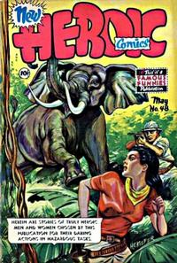 Cover Thumbnail for New Heroic Comics (Eastern Color, 1946 series) #48