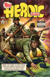 Cover for New Heroic Comics (Eastern Color, 1946 series) #69