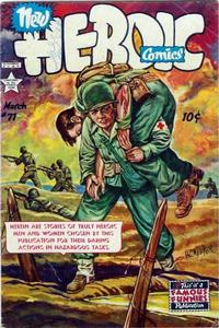 Cover for New Heroic Comics (Eastern Color, 1946 series) #71