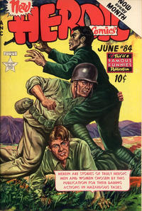 Cover Thumbnail for New Heroic Comics (Eastern Color, 1946 series) #84