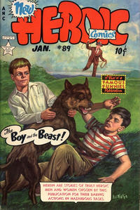 Cover Thumbnail for New Heroic Comics (Eastern Color, 1946 series) #89