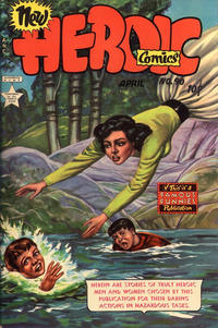 Cover Thumbnail for New Heroic Comics (Eastern Color, 1946 series) #90