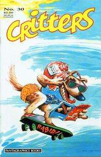 Cover Thumbnail for Critters (Fantagraphics, 1986 series) #30