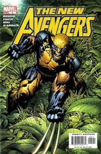Cover Thumbnail for New Avengers (Marvel, 2005 series) #5 [Direct Edition]