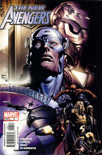 Cover Thumbnail for New Avengers (Marvel, 2005 series) #6 [Direct Edition]