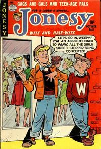Cover for Jonesy (Quality Comics, 1953 series) #8