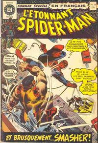 Cover Thumbnail for L'Étonnant Spider-Man (Editions Héritage, 1970 series) #18