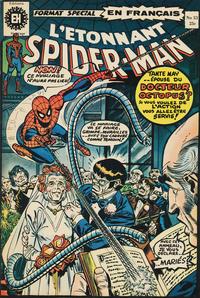 Cover Thumbnail for L'Étonnant Spider-Man (Editions Héritage, 1969 series) #33