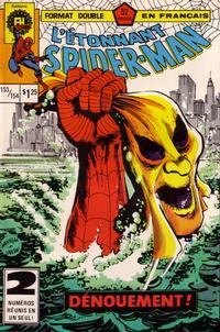 Cover Thumbnail for L'Étonnant Spider-Man (Editions Héritage, 1969 series) #153/154