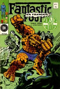 Cover Thumbnail for Fantastic Four (Editions Héritage, 1968 series) #2