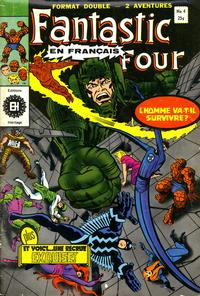 Cover Thumbnail for Fantastic Four (Editions Héritage, 1968 series) #4