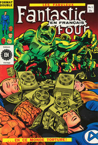 Cover Thumbnail for Fantastic Four (Editions Héritage, 1968 series) #5