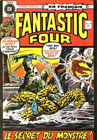 Cover Thumbnail for Fantastic Four (Editions Héritage, 1968 series) #14