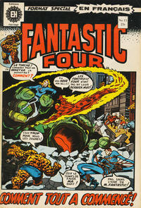 Cover Thumbnail for Fantastic Four (Editions Héritage, 1968 series) #15