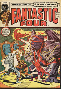 Cover Thumbnail for Fantastic Four (Editions Héritage, 1968 series) #24