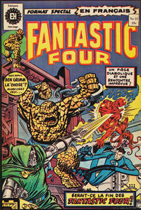 Cover Thumbnail for Fantastic Four (Editions Héritage, 1968 series) #31