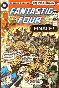 Cover Thumbnail for Fantastic Four (Editions Héritage, 1968 series) #52
