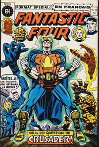 Cover Thumbnail for Fantastic Four (Editions Héritage, 1968 series) #54