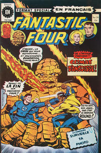 Cover Thumbnail for Fantastic Four (Editions Héritage, 1968 series) #59