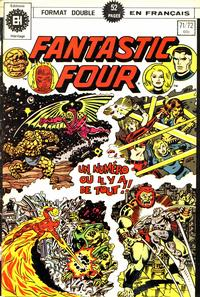 Cover Thumbnail for Fantastic Four (Editions Héritage, 1968 series) #71/72
